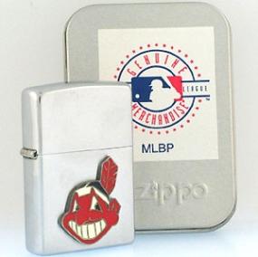Cleveland Indians Zippo Lighter