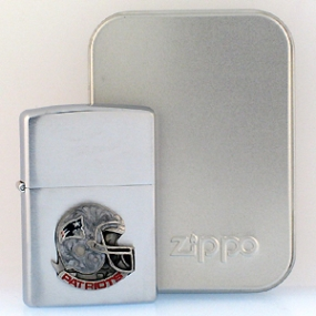 New England Patriots Zippo Lighter