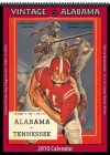 Alabama Crimson Tide 2010 Vintage Football Program Calendar