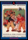 Arizona Wildcats 2010 Vintage Football Program Calendar