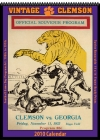 Clemson Tigers 2010 Vintage Football Program Calendar