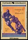 Colorado Buffaloes 2010 Vintage Football Program Calendar