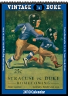 Duke Blue Devils 2010 Vintage Football Program Calendar