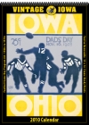Iowa Hawkeyes 2010 Vintage Football Program Calendar