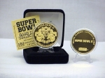 24kt Gold Super Bowl II flip coin