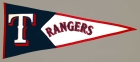 Texas Rangers Vintage Classic Pennant