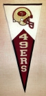 San Francisco 49ers Classic Pennant