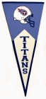 Tennessee Titans Classic Pennant