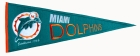 Miami Dolphins Throwback Pennant