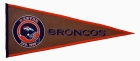 Denver Broncos Pigskin Pennant Traditions Pennant