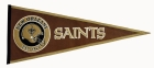 New Orleans Saints Pigskin Pennant Traditions Pennant