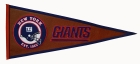 New York Giants Pigskin Pennant Traditions Pennant