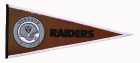 Oakland Raiders Pigskin Pennant Traditions Pennant