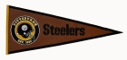 Pittsburgh Steelers Pigskin Pennant Traditions Pennant