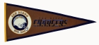 San Diego Chargers Pigskin Pennant Traditions Pennant