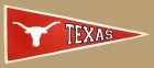Texas Longhorns Vintage Traditions Pennant