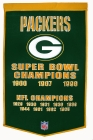 Green Bay Packers Banner Dynasty Banner