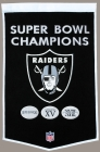 Oakland Raiders Banner Dynasty Banner