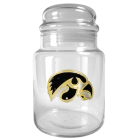 Iowa Hawkeyes 31oz Glass Candy Jar