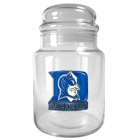 Duke Blue Devils 31oz Glass Candy Jar