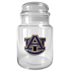 Auburn Tigers 31oz Glass Candy Jar