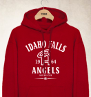 Idaho Falls Angels Clubhouse Vintage Hoody