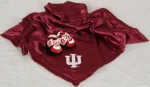 Indiana Hoosiers Baby Blanket and Slippers