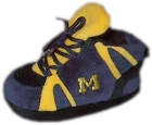 Michigan Wolverines Baby Slippers