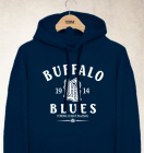 Buffalo Blues Clubhouse Vintage Hoody