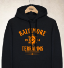 Baltimore Terrapins Clubhouse Vintage Hoody