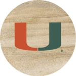 Thirstystone Miami Hurricanes Collegiate Coasters