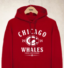 Chicago Whales Clubhouse Vintage Hoody